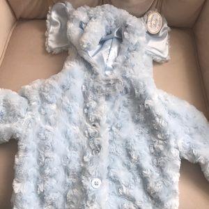 Baby's coat. Elephant hood.